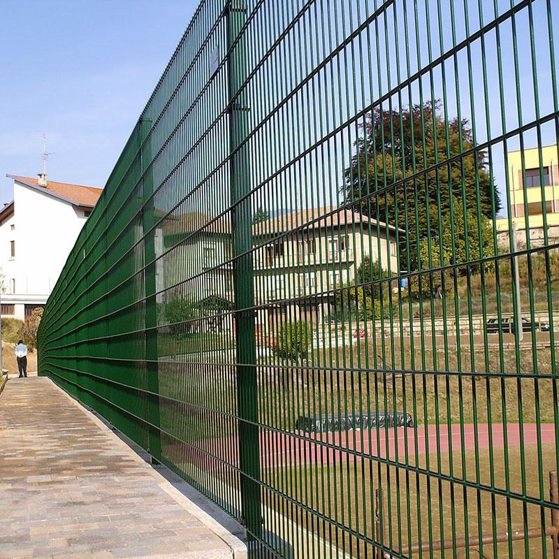 metal garden fence