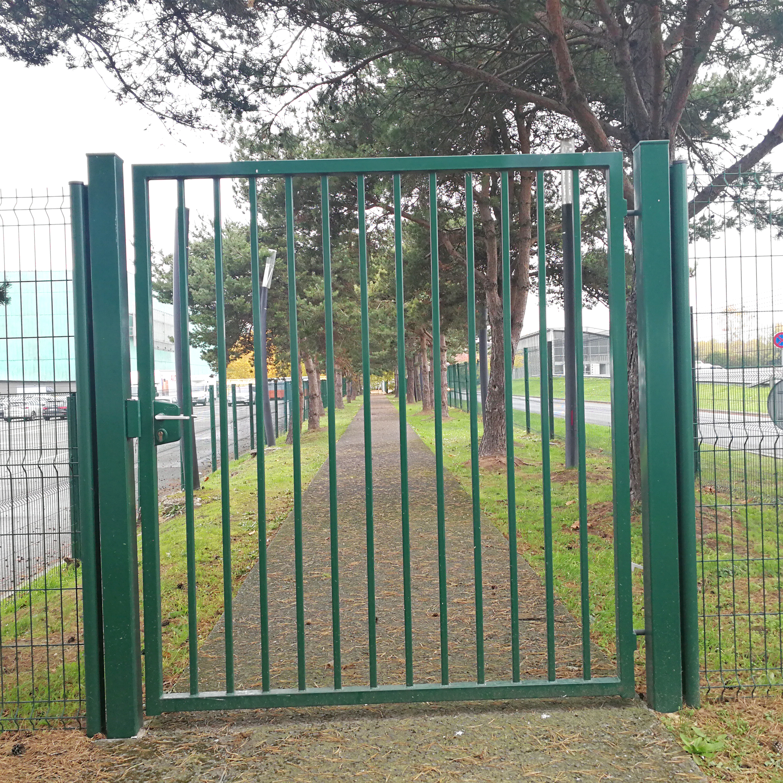 Puerta única