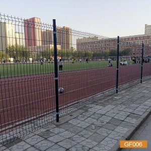 Круглый пост забор