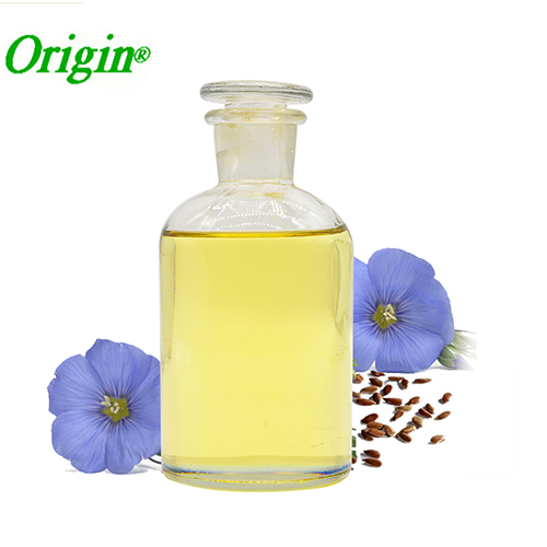 Animal feed use cosmetics use natural flax seed linseed oil
