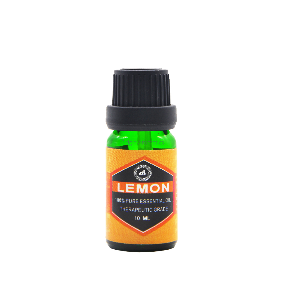 Purifying air promote mood oliy skin balance Lemon essential oil