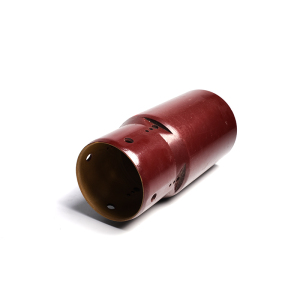 High-voltage electrical insulating sleeve