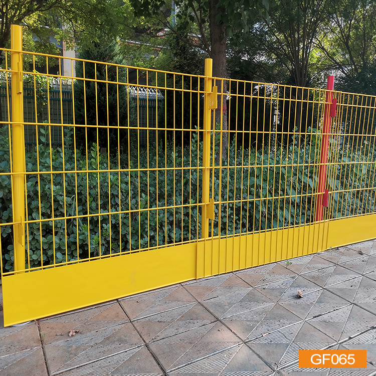 Edge protection fence